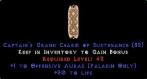 Paladin Offensive Auras w/ 30 Life GC