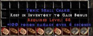 10 x Pack - 100 Poison Damage SC (plain)