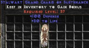 100 Defense w/ 30-39 Life GC
