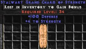 100 Defense w/ 4-5 Str GC