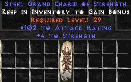 102 Attack Rating w/ 4-5 Str GC