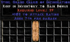 102 Attack Rating w/ 7-14 Fire Damage GC