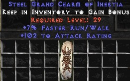 102 Attack Rating w/ 7% FRW GC