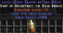 10 Cold Resist w/ 2-5 Cold Damage LC