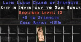 10 Cold Resist w/ 3 Str LC