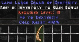 10 Cold Resist w/ 5 Dex LC