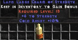 10 Cold Resist w/ 5 Str LC
