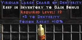 10 Resist Poison w/ 3 Dex LC