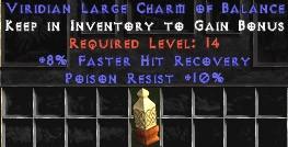 10 Resist Poison w/ 8% FHR LC