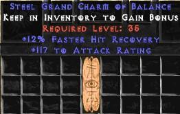 117 Attack Rating w/ 12% FHR GC