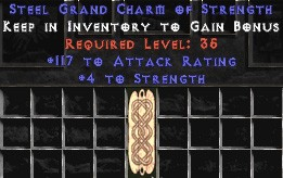 117 Attack Rating w/ 4-5 Str GC