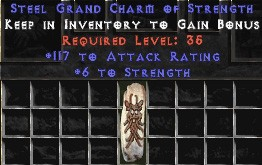 117 Attack Rating w/ 6 Str GC