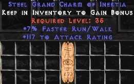 117 Attack Rating w/ 7% FRW GC
