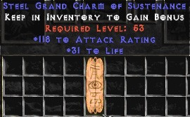 118-131 Attack Rating w/ 31-35 Life GC