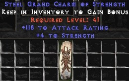 118-131 Attack Rating w/ 4-5 Str GC