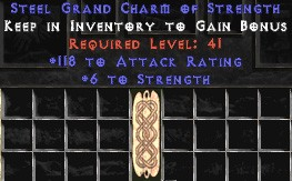 118-131 Attack Rating w/ 6 Str GC