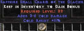 11 Resist Cold w/ 3-6 Cold Damage SC