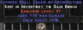 11 Resist Cold w/ 7-13 Fire Damage SC