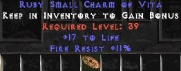 11 Resist Fire w/ 16-19 Life SC