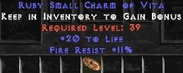 11 Resist Fire w/ 20 Life SC