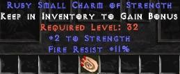 11 Resist Fire w/ 2 Str SC