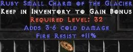 11 Resist Fire w/ 3-6 Fire Damage SC