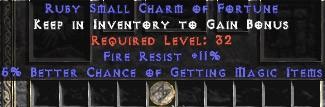 11 Resist Fire w/ 5-6% MF SC