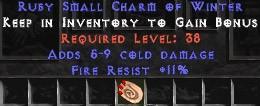11 Resist Fire w/ 5-9 Fire Damage SC