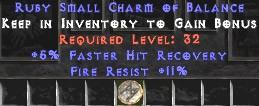 11 Resist Fire w/ 5% FHR SC