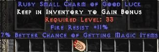 11 Resist Fire w/ 7% MF SC