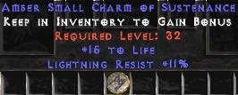 11 Resist Lightning w/ 15 Life SC