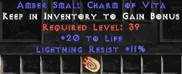 11 Resist Lightning w/ 20 Life SC