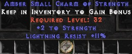 11 Resist Lightning w/ 2 Str SC