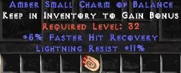 11 Resist Lightning w/ 5% FHR SC