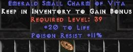 11 Resist Poison w/ 20 Life SC