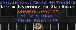 11 Resist Poison w/ 2 Str SC