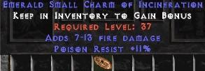 11 Resist Poison w/ 7-13 Poison Damage SC