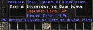 11 Resist Poison w/ 7% MF SC