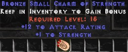 12 Attack Rating w/ 1 Str SC