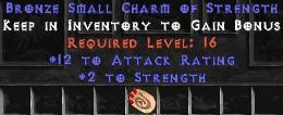 12 Attack Rating w/ 2 Str SC
