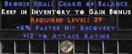 12 Attack Rating w/ 5% FHR SC