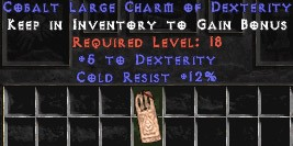 12 Resist Cold w/ 5 Dex LC