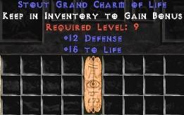 12 Defense w/ 15 Life GC