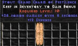 12 Defense w/ 25 Poison Damage GC