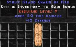 12 Defense w/ 2-3 Fire Damage GC