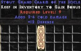 12 Defense w/ 2-4 Cold Damage GC