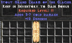 12 Defense w/ 3-7 Cold Damage GC
