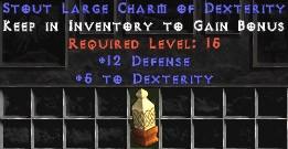 12 Defense w/ 5 Dex LC