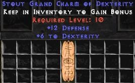 12 Defense w/ 6 Dex GC