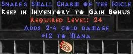 12 Mana w/ 2-4 Cold Damage SC